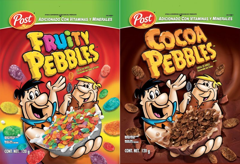 Transcontinental Robbie Post Fruity Pebbles/Cocoa Pebbles