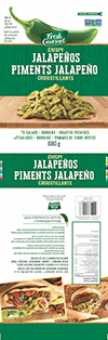 Fresh Gourmet Piments Jalapeño Croustillants