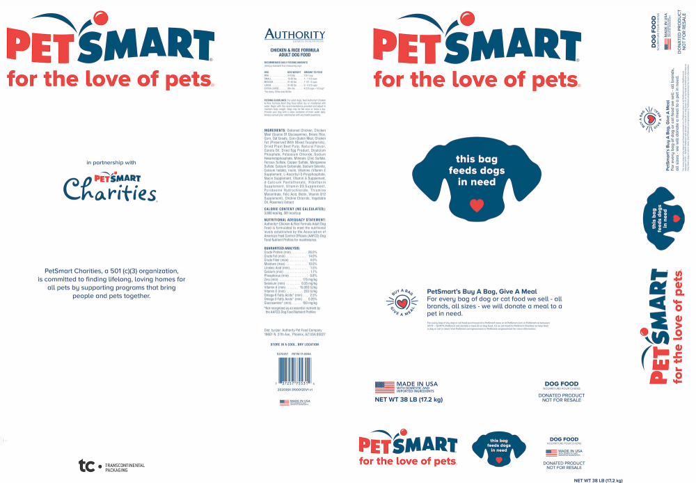 PetSmart for the Love of Pets Authority Dog Food