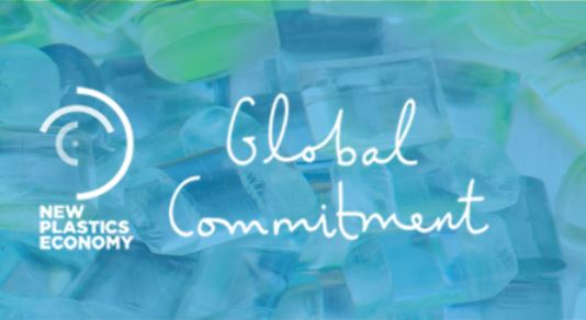 New Plastic Global Commitment logo
