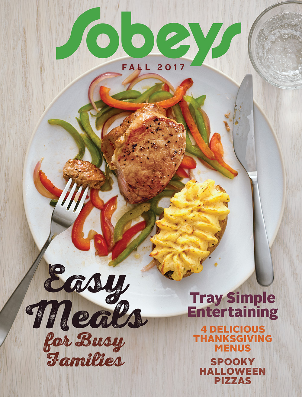 Sobeys - Fall magazine cover