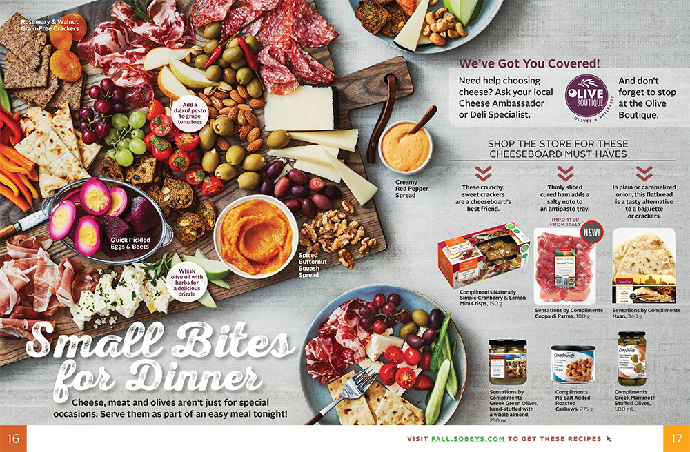 Sobeys - Fall magazine spread