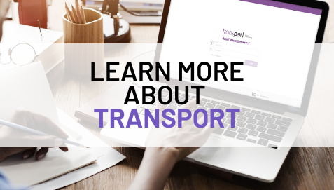 TransPort for retail marketing portal